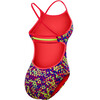 TYR Modena Trinityfit Bathing Suit Women red/yellow